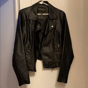 Super CUTE Moto Pleather Jacket